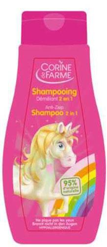 Corine De Farme Шампунь детский, для легкого расчесывания, с ароматом