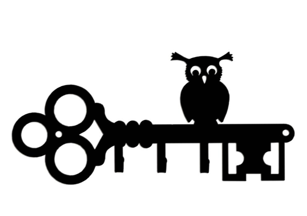 Ключница Duck&Dog Сова, 19 x 9 x 1,5 смKEY-3-005Замечательная ключница Duck&Dog Сова не только удобная и функциональная деталь вашего интерьера, но и удивительно забавная и оригинальная вещичка. Она прекрасно подойдет для вашего дома и не займет много места, надежно выдержав не только ключи, но и все, что вы на нее повесите. Ключница изготовлена из сплавов прочных металлов и покрыта специальной порошковой краской, что гарантирует долговечность срока службы. Ключница крепится к стене с помощью двух шурупов (входят в комплект). Английская компания Duck And Dog вот уже более 140 лет радует своими изделиями поклонников домашнего уюта. В 2001 году компания вышла на российский рынок. Современное высокотехнологичное производство позволяет продукции компании Duck And Dog стать украшением любого дома, сада и дачи. Размер ключницы: 19 см x 9 см x 1,5 см.