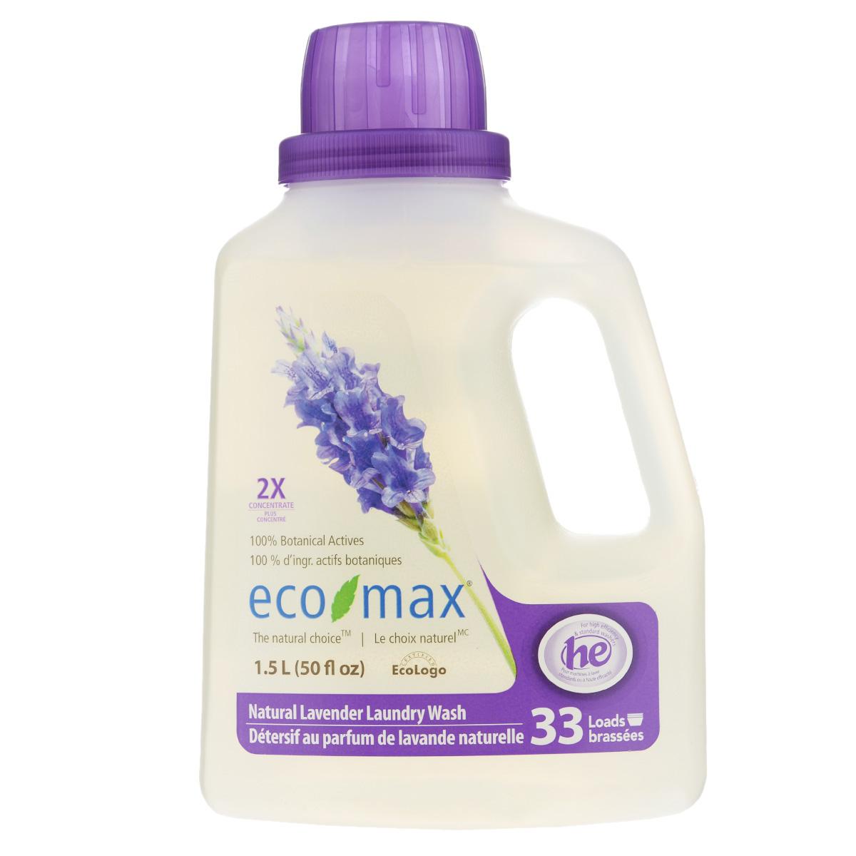 Жидкое средство для стирки Eco Max Лаванда, концентрированное, 1,5 лEmax-C129Жидкое средство для стирки Eco Max Лаванда - полностью натуральное, на растительной основе средство для стирки с успокаивающим ароматом лаванды. Благодаря низкому пенообразованию и отсутствию осадка безопасно для использования в стиральной машине. Нетоксично, без осадка, безопасно для детской одежды. В этом средстве используются активные чистящие вещества ингредиентов, полученных из биоразлагаемых и возобновляемых растительных источников. Экономично: одного флакона хватает на 50 стирок. Подходит для ручной и машинной стирки, для всех типов ткани. Состав: вода, растительные алкилполигликозиды (из кокосового масла и кукурузного сиропа), пищевая лимонная кислота, пищевой цитрат натрия, пищевой загуститель на основе целлюлозы и пищевой сорбат калия в качестве консерванта, натуральное эфирное масло лаванды. Товар сертифицирован.