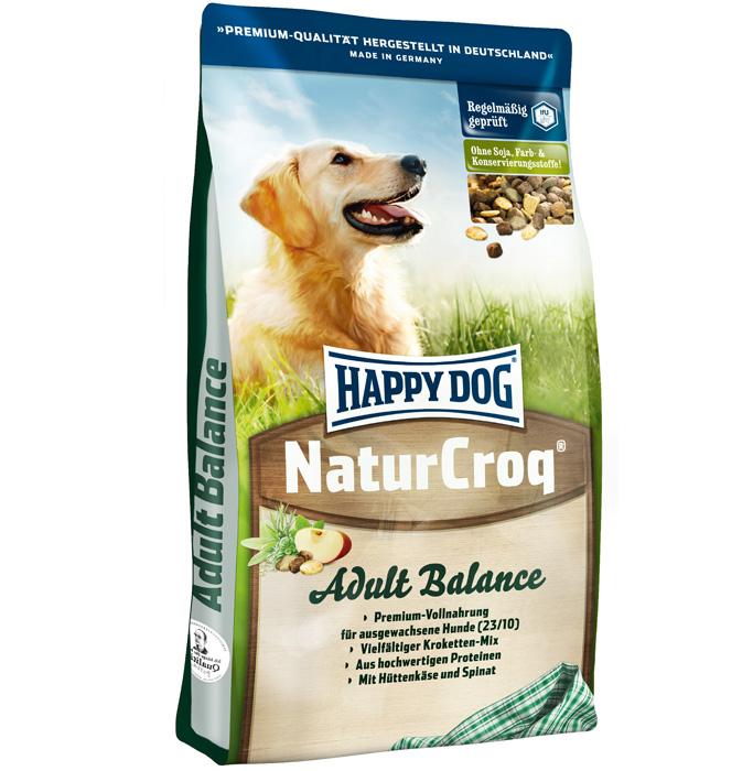 Корм сухой Happy Dog Natur Croq Balance для активных взрослых собак, 15 кг31477Сухой корм Happy Dog Natur Croq Balance - полнорационный сбалансированный корм для взрослых собак с нормальными и слегка повышенными потребностями в энергии. - Легкоусвояемая смесь разных гранул - вкусное удовольствие! - Домашний сыр и экстракт дрожжей положительно влияют на пищеварение и функции кишечника. Поэтому сухой корм Natur Croq Balance подходит чувствительным собакам. - Вследствие слегка повышенного содержания энергии Natur Croq Balance отлично подходит активным собакам, занимающимся аджилити, спортом и подвижными играми. Состав: птица, цельнозерновая пшеница, пшеничная мука, цельнозерновая кукуруза, кукурузная мука, рисовая мука, овсяная мука, цельнозерновой ячмень, мясная мука, рыба, птичий жир, говяжий жир, свекольная пульпа, гидролизат печени, яблочная пульпа (0,8%), хлорид натрия, домашний сыр (0,3%), морковь (0,1%), дрожжи (экстракт, 0,1%), шпинат (0,08%), люцерна (0,08%). Аналитические составляющие: сырой протеин...