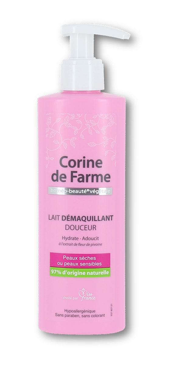 Corine De Farme Нежное молочко для снятия макияжа для сухой и чувствительной кожи, 200 мл40520Нежное молочко для снятия макияжа снимает любые загрязнения кожи, которые могут появиться в течение дня. Обогащенное растительным глицерином, оно придает увлажненность коже надолго, оставляет кожу очищенной, успокаивает ее и придает комфорт.