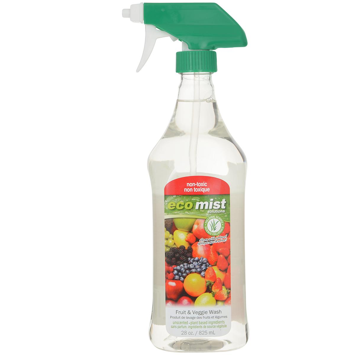 Средство для мытья фруктов и овощей Eco Mist, 825 млEM825XXFVTR06EFLУникальный спрей Eco Mist специально разработан для удаления пестицидов и других токсичных химикатов, воска, земли, удобрений, следов животных и насекомых, следов человеческого и животного происхождения с поверхности фруктов, овощей и корнеплодов. Безопасно. Нетоксично. Рекомендуется обрабатывать фрукты и овощи детям, беременным женщинам, людям страдающим аллергическими заболеваниями. Состав: дехлорированная вода, коричное масло, экстракт бурых водорослей, масло жожоба, экстракт кукурузы.