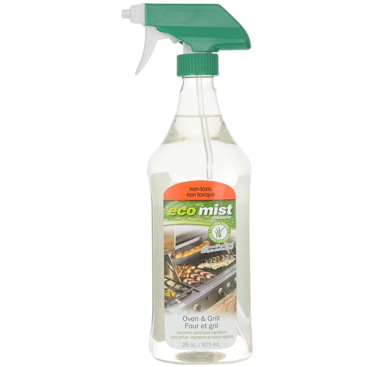 Средство для очистки духовок и гриля Eco Mist, 825 млEM825XXOGTR06EFLСредство Eco Mist нового поколения эффективно справляется с нагаром, жиром и неприятным запахом, который остается после приготовления пищи на гриле или в духовке. Без запаха. Не токсично. Безвредно. Состав: дехлорированная вода, зерновые, кукуруза, кокос, древесный сок.