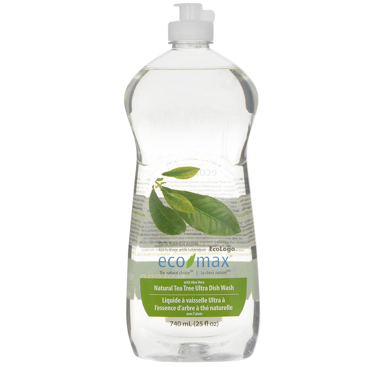 Средство для мытья посуды Eco Max Чайное дерево, 740 млEmax-C108Средство для мытья посуды Eco Max - натуральное средство на 100% растительной основе, полностью биоразлагаемое. В этом средстве используются активные чистящие вещества ингредиентов, полученных из биоразлагаемых и возобновляемых растительных источников. Содержит алоэ вера, обладающее увлажняющими и заживляющими свойствами. Натуральное эфирное масло придает посуде свежий аромат. Состав: вода, ПАВ растительного происхождения, растительный экстракт алоэ вера, соль, пищевой сорбат калия в качестве консерванта, пищевая лимонная кислота (из плодов лимона), натуральное эфирное масло чайного дерева, натуральное эфирное масло лемонграсса. Товар сертифицирован.
