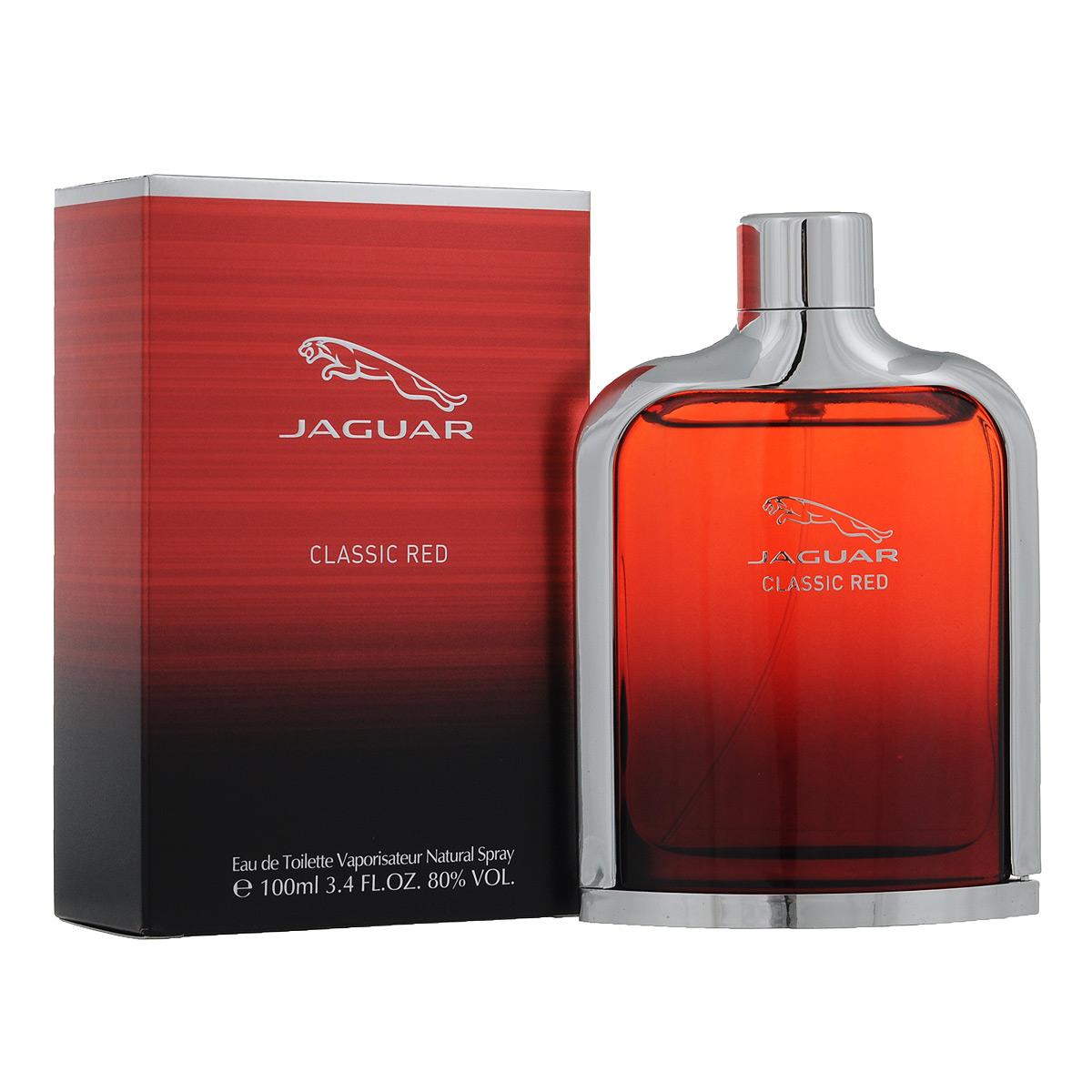Jaguar Туалетная вода Classic Red, мужская, 100 млJ370320Мужская туалетная вода Classic Red от Jaguar создана парфюмером Карин Дюбрей Серени. Классификация аромата : древесный, пряный. Пирамида аромата : Верхние ноты: сицилийский бергамот, малина, черника. Ноты сердца: жасмин, перец, кислород. Ноты шлейфа: пачули, кедр, амбра, бобы тонки, ваниль. Ключевые слова Яркий, мужественный, элегантный! Туалетная вода - один из самых популярных видов парфюмерной продукции. Туалетная вода содержит 4-10% парфюмерного экстракта. Главные достоинства данного типа продукции заключаются в доступной цене, разнообразии форматов (как правило, 30, 50, 75, 100 мл), удобстве использования (чаще всего - спрей). Идеальна для дневного использования. Товар сертифицирован.