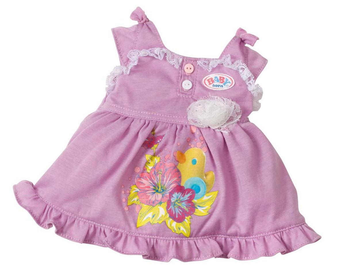 Baby Born Одежда для кукол Платье цвет сиреневый