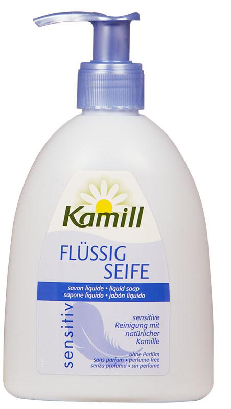 Kamill Мыло жидкое для рук Sensitive, 300 мл26950642Жидкое мыло Kamill Sensitive разработано специально для чувствительной кожи. Имеет особую мягкую формулу. Ромашка в составе жидкого мыла обеспечивает дополнительную защиту и способствует регенерации клеток кожи. Концентрированная формула обеспечивает очень экономичный расход мыла. pH-нейтрально, проверено дерматологически. Товар сертифицирован.