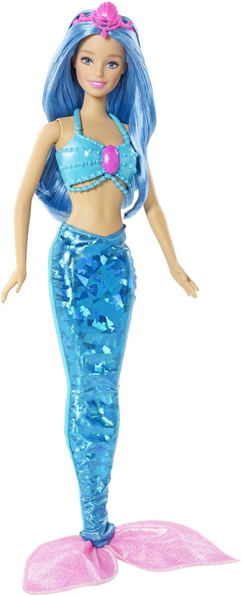 Barbie Кукла Русалочка цвет голубой