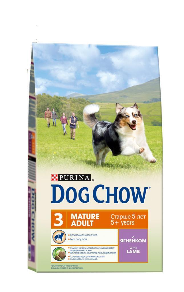 Корм сухой Dog Chow для взрослых собак старше 5 лет, с ягненком и рисом, 14 кг12260274Сухой корм Dog Chow - 100% полнорационное сбалансированное питание для взрослых собак старшего возраста. Корм с высоким содержание мяса помогает взрослым собакам сохранять оптимальную мышечную массу тела и поддерживать хорошую работу сердца. Необходимое содержание белков и жиров, тщательно сбалансированное для поддержания оптимальной массы тела взрослой собаки старшего возраста. Содержит натуральный пребиотик, улучшающий работу пищеварительной системы. Цикорий - источник натурального пребиотика, который, как показали исследования, способствует росту численности полезных кишечных бактерий и нормализации деятельности пищеварительной системы. Гранулы двух видов для гигиены полости рта. Специальная форма и текстура гранул способствует пережевыванию и поддержанию здоровья полости рта. Наши диетологи тщательно протестировали это сочетание гранул для гарантии того, что они подходят и нравятся взрослым собакам различных пород. Незаменимые...