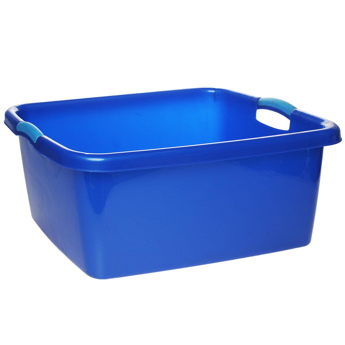 Таз Dunya Plastik Симпатия, цвет: синий, 40 л05502Таз Dunya Plastik Симпатия выполнен из прочного пластика. Он предназначен для стирки и хранения разных вещей. По бокам имеются эргономичный ручки, которые обеспечивают надежный захват. Таз Dunya Plastik Симпатия пригодится в любом хозяйстве.