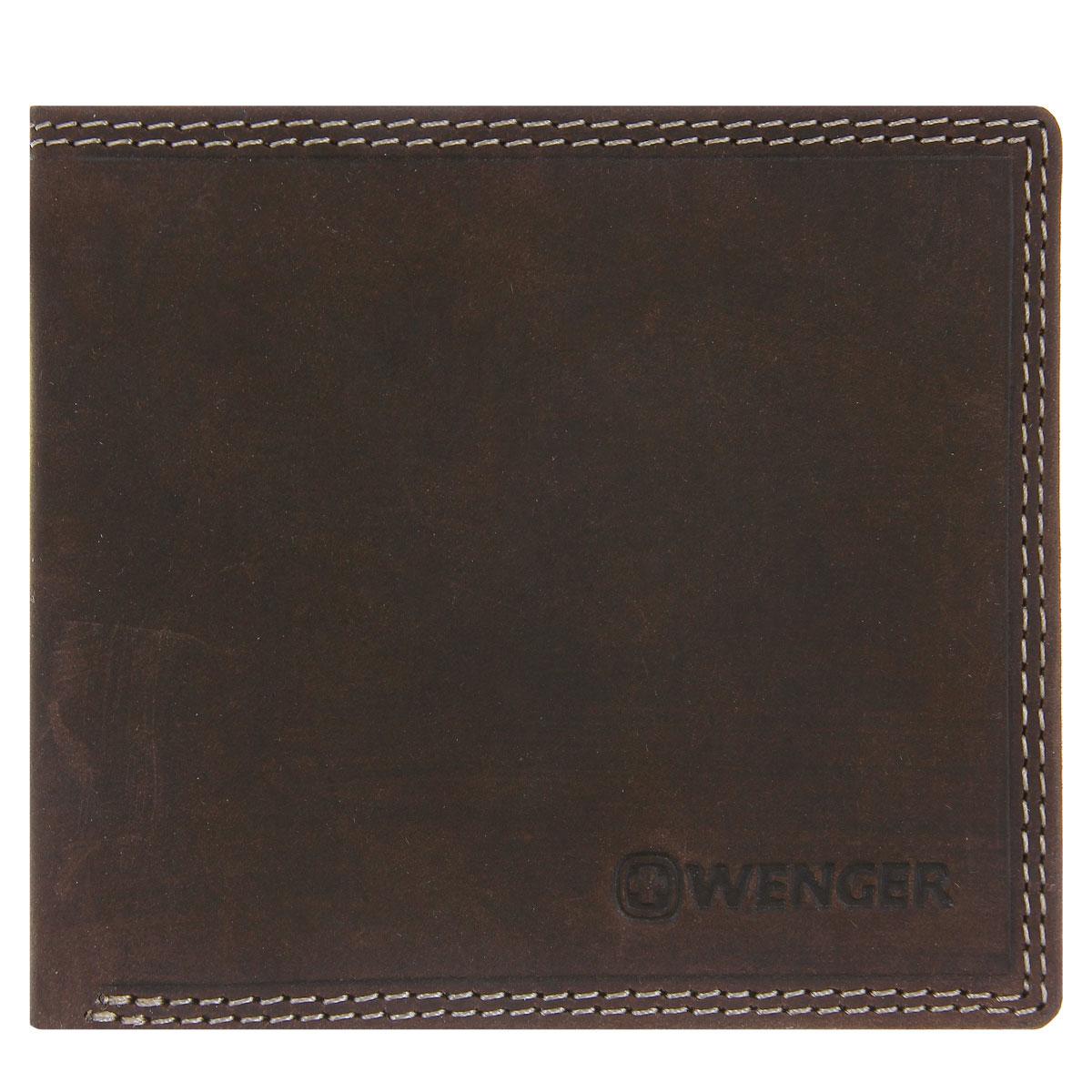 Портмоне мужское Wenger, цвет: коричневый. W5-09W5-09BROWNИзысканное мужское портмоне Wenger изготовлено из натуральной кожи и оформлено декоративной прострочкой, тиснениями в виде названия и логотипа бренда на лицевой стороне. Внутри - два отделения для купюр, отсек для мелочи на замке-кнопке, два боковых кармана и четыре прорези для визиток и банковских карт. Изюминка модели - перекидной блок, который содержит четыре прорези и сетчатый карман. Изделие упаковано в фирменную коробку. Модное портмоне Wenger придется по душе истинному ценителю прекрасного. По всем вопросам гарантийного и постгарантийного обслуживания рюкзаков, чемоданов, спортивных и кожаных сумок, а также портмоне марок Wenger и SwissGear вы можете обратиться в сервис-центр, расположенный по адресу: г. Москва, Саввинская набережная, д.3. Тел: (495) 788-39-96, (499) 248-56-56, ежедневно с 9:00 до 21:00. Подробные условия гарантийного обслуживания приведены в гарантийном талоне, поставляемым в комплекте с каждым изделием. Бесплатный ремонт...