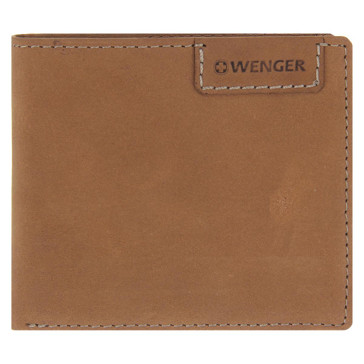 Портмоне мужское Wenger, цвет: коричневый. W11-11W11-11BROWNСтильное мужское портмоне Wenger изготовлено из натурального нубука и оформлено декоративной прострочкой, а также тиснениями в виде логотипа и названия бренда на лицевой стороне. Внутри - одно отделение для купюр, отсек для мелочи на замке-кнопке, два боковых кармана и четыре прорези для визиток и кредитных карт, а также перекидной блок (с сетчатым карманом для фото, четырьмя прорезями и одним боковым карманом). Изюминкой модели является съемный блок из мягкого прозрачного пластика на пять визиток. Портмоне упаковано в изысканную фирменную коробку. Модное портмоне Wenger не оставит равнодушным истинного ценителя прекрасного. По всем вопросам гарантийного и постгарантийного обслуживания рюкзаков, чемоданов, спортивных и кожаных сумок, а также портмоне марок Wenger и SwissGear вы можете обратиться в сервис-центр, расположенный по адресу: г. Москва, Саввинская набережная, д.3. Тел: (495) 788-39-96, (499) 248-56-56, ежедневно с 9:00 до 21:00. Подробные...