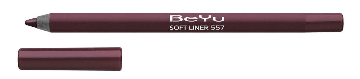 BeYu Карандаш для губ Soft Liner, универсальный, тон №557, 1,2 г34.557Мягкая текстура карандаша Soft Liner легко и приятно наносится на нежную кожу губ. Благодаря стойкой формуле карандаш фиксируется уже через минуту и становится водостойким. При этом при необходимости он легко растушевывается. Широкая цветовая палитра дает возможность идеально подобрать карандаш к помаде, а удобная пластиковая упаковка защищает грифель от сколов. Товар сертифицирован.
