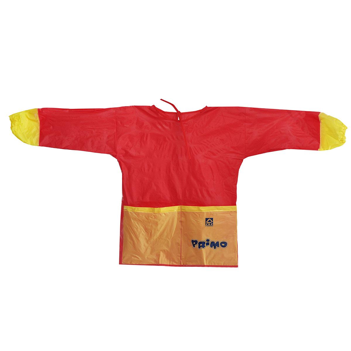 Фартук детский для творчества Primo, с длинными рукавами, размер S (2-5 лет)219GREMBДетский фартук Primo с рукавами будет полезен вашему ребенку во время занятия творчеством. Фартук выполнен из яркого ПВХ, имеет два вместительных кармана, сзади завязывается на веревочки. С таким фартуком одежда и руки вашего малыша будут всегда оставаться чистыми. Ребенок сможет смело рисовать, не боясь испачкать руки о свой шедевр, лепить из пластилина и многое другое. Рекомендуемый возраст: от 2 до 5 лет.