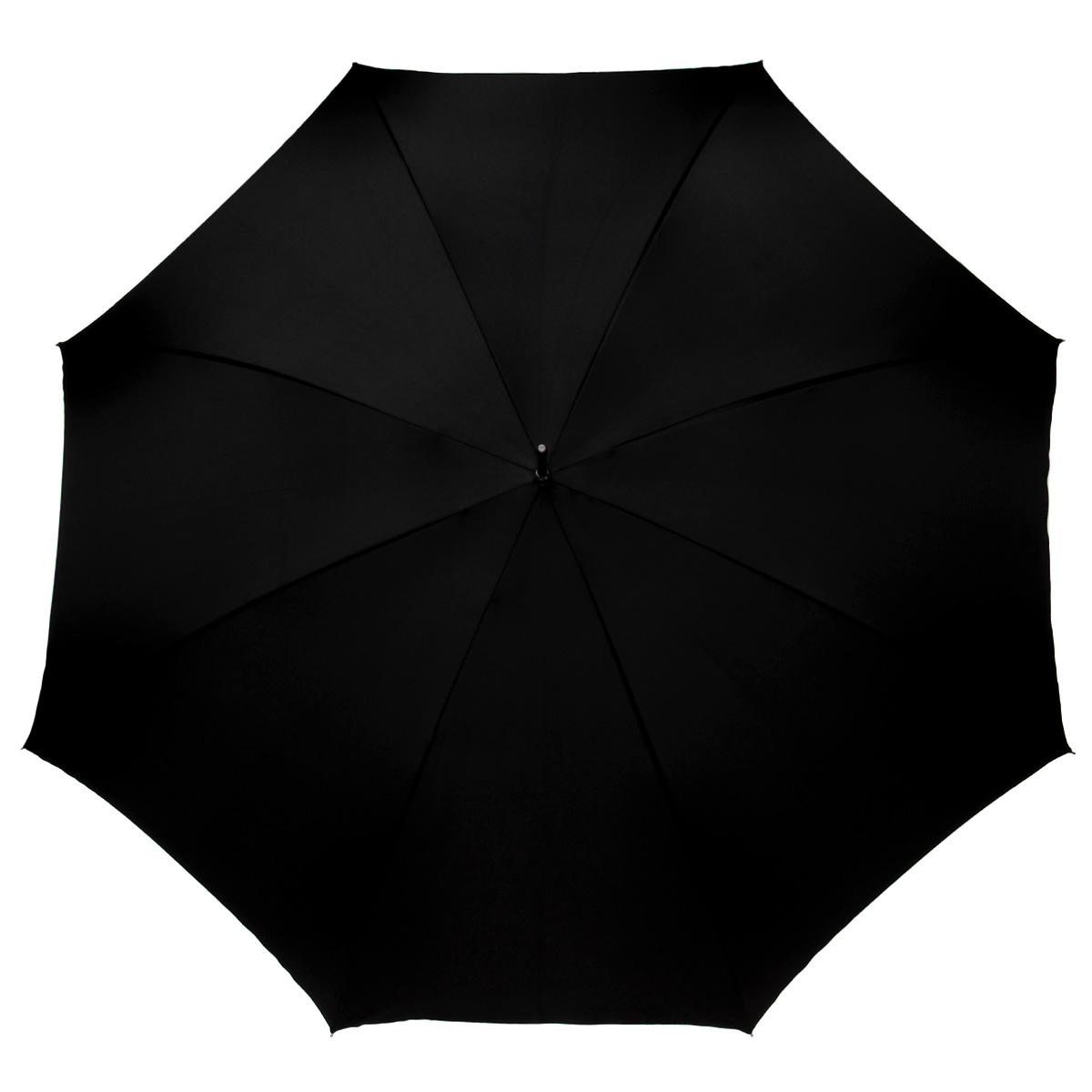 Зонт-трость Pasotti, механический, черный, белый188-black-T14Стильный механический зонт-трость Pasotti даже в ненастную погоду позволит вам оставаться элегантной. Каркас зонта из стали состоит из восьми спиц. Рукоятка удобной закругленной формы выполнена из стали с изящным орнаментом и оформлена крупным стразом. Закрытый купол фиксируется декоративным металлическим кольцом. Зонт имеет механический тип сложения: купол открывается и закрывается вручную. Двухслойный купол зонта выполнен из прочного сатина, внутренняя сторона декорирована оригинальными принтами, декорированными стразами. Такой зонт не только надежно защитит вас от дождя, но станет стильным аксессуаром и позволит вам подчеркнуть свою индивидуальность.