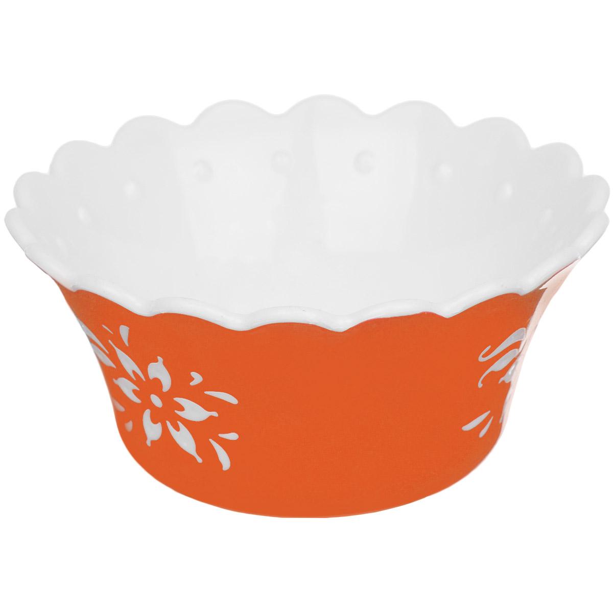 Емкость для варенья Альтернатива Премьера, цвет: оранжевый, 150 млM2216Емкость для варенья Альтернатива Премьера выполнена из высококачественного пластика и оформлена узором. Емкость имеет прозрачную крышку и, несомненно, понравится любителям классического стиля. Такая емкость украсит ваш праздничный или обеденный стол, а яркое оформление понравится любой хозяйке.
