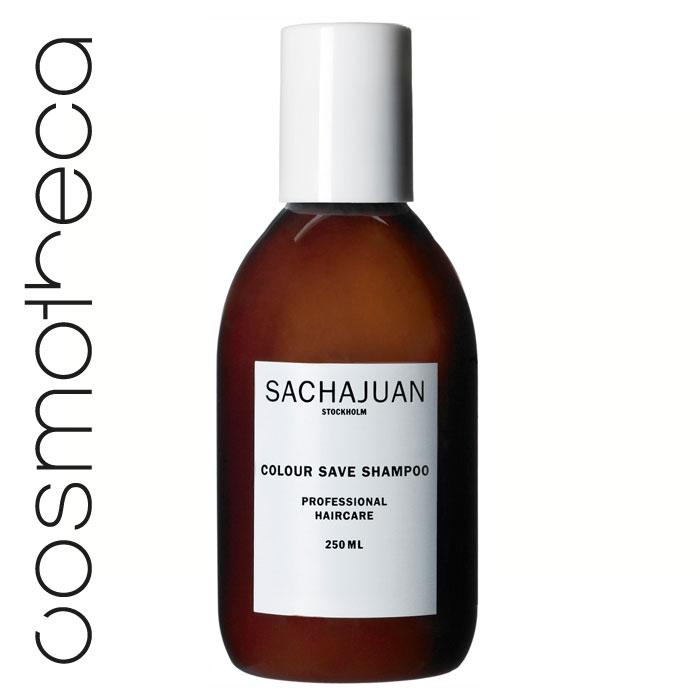 """Sachajuan Шампунь для окрашенных волос 250 млSCHJ103Особая формула ухода c технологией """"Морской шелк"""" для придания волосам здорового блеска и защиты цвета. Делает волосы более упругими."""