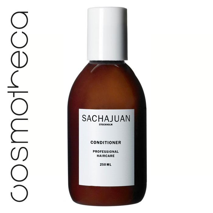 """Sachajuan Кондиционер для волос 250 млSCHJ104Кондиционер c технологией """"Морской шелк"""" великолепно смягчает волосы и облегчает их расчесывание. Специальная формула укрепляет структуру волос, делает их более упругими и придает шелковистый блеск."""