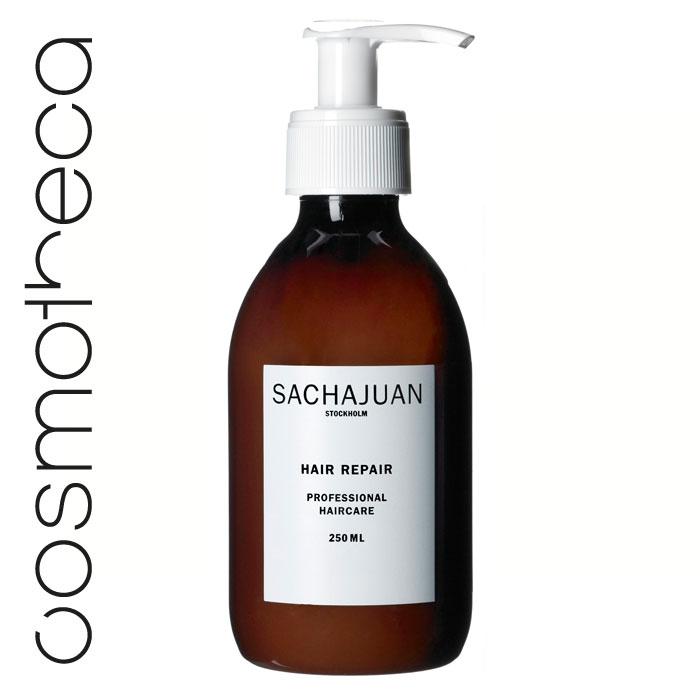 """Sachajuan Маска для волос восстанавливающая 250 млSCHJ105Интенсивный уход для поврежденных и ослабленных волос с технологией """"Морской шелк"""" способствует регенерации клеток, наполняя их жизненной силой. Обеспечивает длительный эффект. Великолепно разглаживает волосы и делает их послушными, шелковистыми, блестящими и здоровыми."""