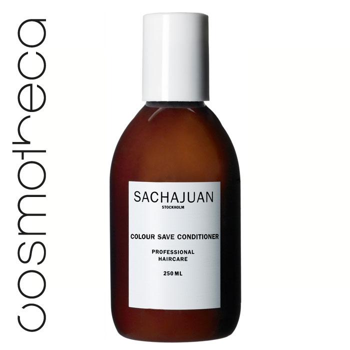 """Sachajuan Кондиционер для окрашенных волос 250 млSCHJ123Кондиционер c технологией """"Морской шелк"""" и защитой от ультрафиолетового излучения великолепно смягчает волосы и облегчает расчесывание. Делает волосы более сильными, упругими и придает им шелковистый блеск."""