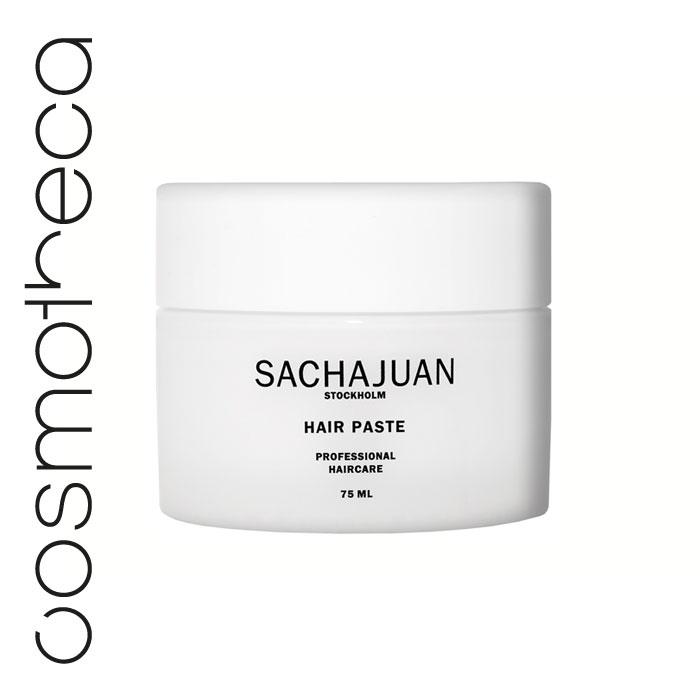 Sachajuan Паста для укладки волос 75 млSCHJ127Моделирующая паста SACHAJUAN – прекрасное средство для сильной фиксации, сохраняющее волосы эластичными, упругими, послушными и блестящими. Это идеальный выбор для создания любого вида укладки. Легко смывается.