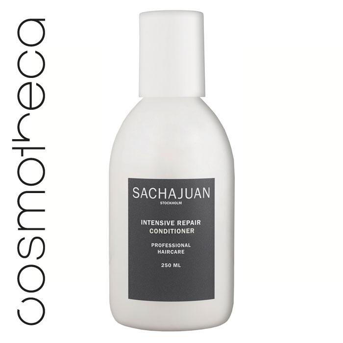 """Sachajuan Кондиционер для волос интенсивно восстанавливающий 250 млSCHJ158Кондиционер для интенсивного восстановления ослабленных, пористых, сухих и поврежденных солнечными лучами волос. Активные вещества технологии """"Морской шелк"""" в сочетании с компонентами, защищающими от UV-излучения, глубоко проникают в волосяную луковицу, продолжая восстанавливать и питать ее даже после смытия кондиционера."""