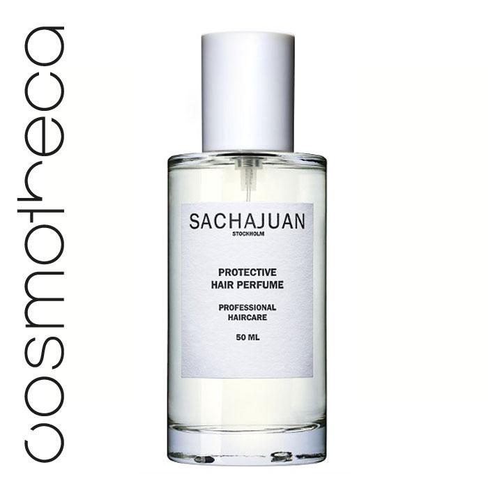 Sachajuan Защитный спрей для волос 50 млSCHJ173Защитный спрей для волос выполняет несколько задач одновременно: мгновенно освежает волосы, придаёт приятный аромат, увлажняет, защищает от солнца, придаёт сияниеи служит антистатиком.