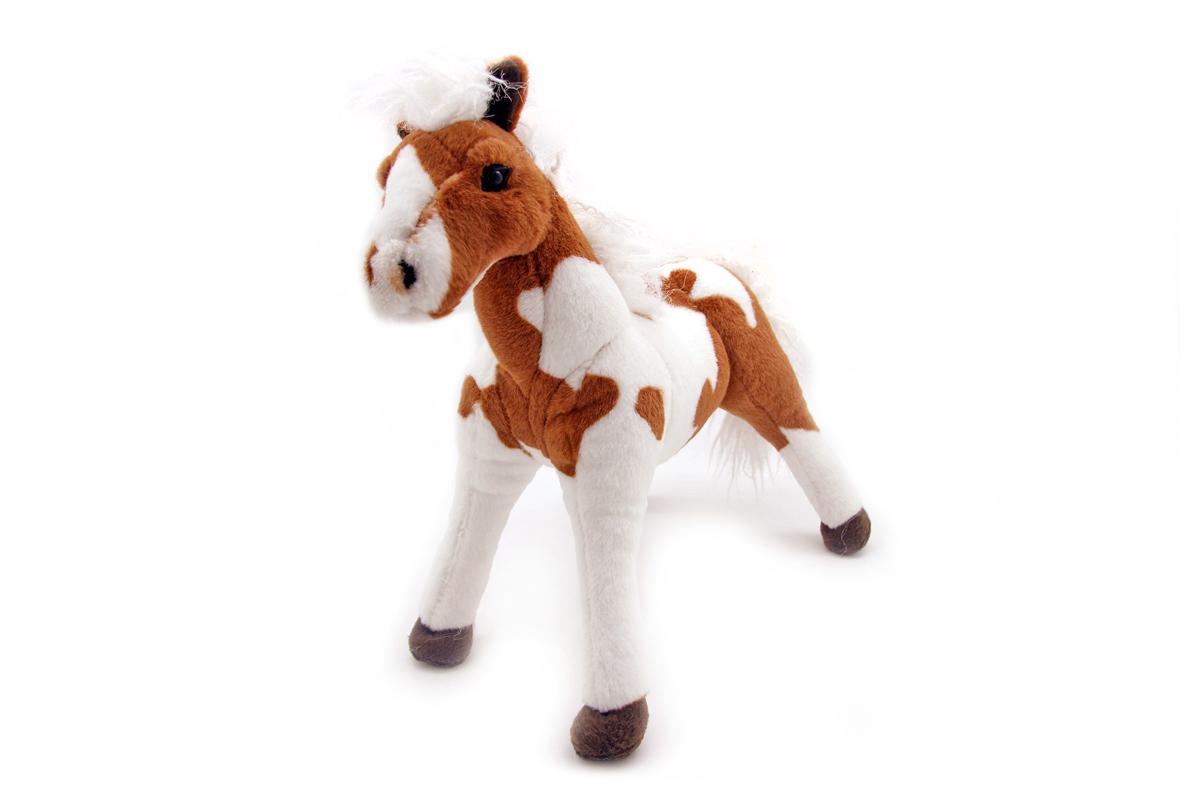 Мягкая игрушка Magic Bear Toys Лошадь, 34 см1MA34RDОчаровательная игрушка Magic Bear Toys Лошадь изготовлена из нетоксичных экологически чистых материалов в виде пегой лошадки. Глазки выполнены из пластика. Зверек обладает мягкой шерсткой, выполненной из искусственного меха. Голова игрушки имеет уплотненный каркас. Для набивки используется силиконизированное волокно. Удивительная мягкая игрушка принесет радость и подарит своему обладателю мгновения нежных объятий и приятных воспоминаний. Великолепное качество исполнения делают эту игрушку чудесным подарком к любому празднику. Трогательная и симпатичная, она непременно вызовет улыбку у детей и взрослых.