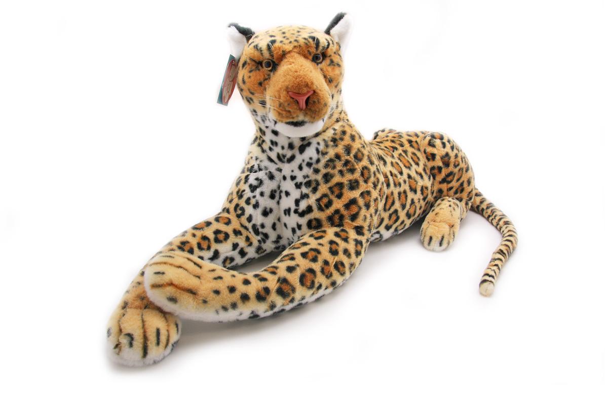 Мягкая игрушка Magic Bear Toys Леопард, 103 смBW103BRОчаровательная игрушка Magic Bear Toys Леопард изготовлена из нетоксичных экологически чистых материалов. Глазки и носик выполнены из пластика. Зверек обладает мягкой шерсткой, выполненной из искусственного меха. Голова игрушки имеет уплотненный каркас. Для набивки используется силиконизированное волокно. Удивительно мягкая игрушка принесет радость и подарит своему обладателю мгновения нежных объятий и приятных воспоминаний. Великолепное качество исполнения делают эту игрушку чудесным подарком к любому празднику. Трогательная и симпатичная, она непременно вызовет улыбку у детей и взрослых.