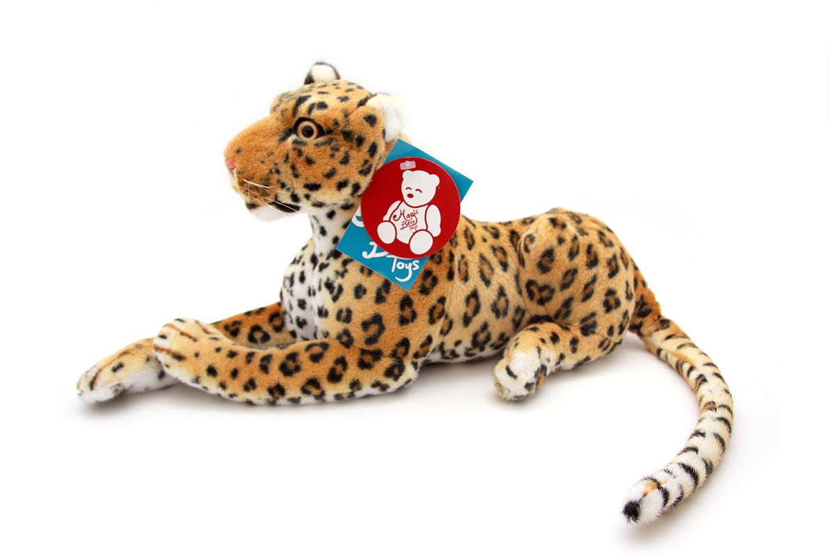"ФОТО Мягкая игрушка magic bear toys ""Леопард"", 45 см"