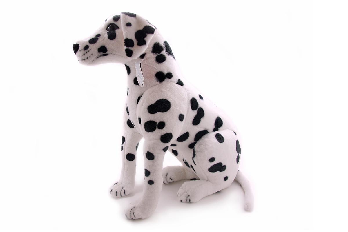 Мягкая игрушка Magic Bear Toys Далматин, 75 смGD81DОчаровательная игрушка Magic Bear Toys Далматин изготовлена из нетоксичных экологически чистых материалов. Глазки и носик выполнены из пластика. Зверек обладает мягкой шерсткой, выполненной из искусственного меха. Голова игрушки имеет уплотненный каркас. Для набивки используется силиконизированное волокно. Удивительно мягкая игрушка принесет радость и подарит своему обладателю мгновения нежных объятий и приятных воспоминаний. Великолепное качество исполнения делают эту игрушку чудесным подарком к любому празднику. Трогательная и симпатичная, она непременно вызовет улыбку у детей и взрослых.