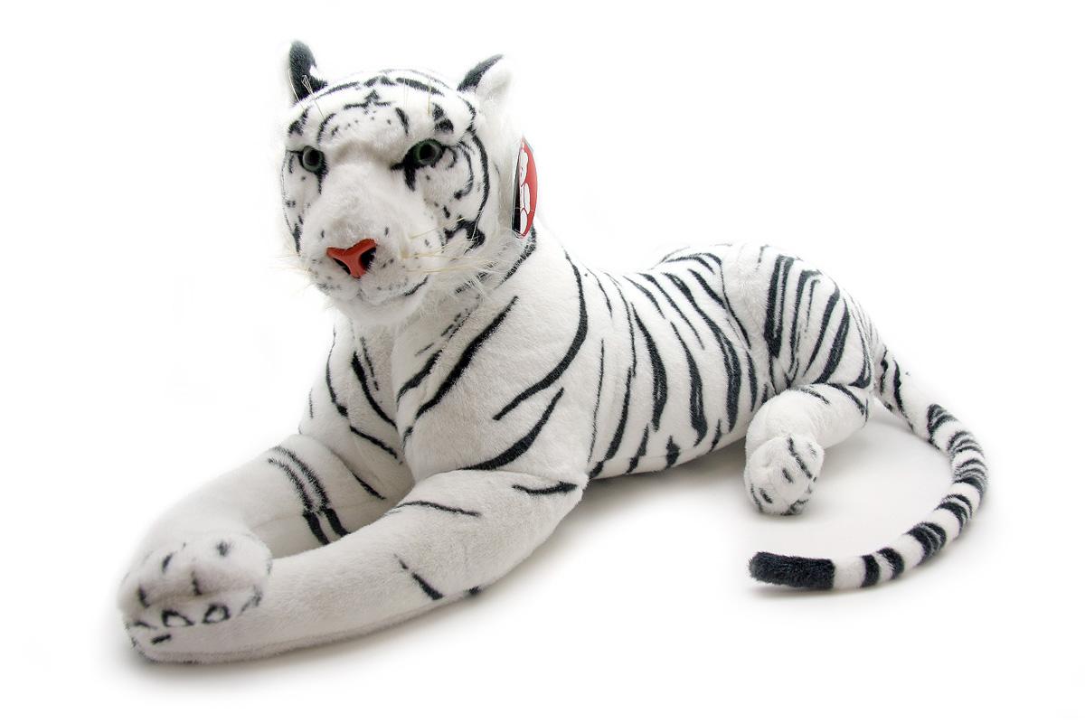 Мягкая игрушка Magic Bear Toys Белый тигр, 70 смHW70WHОчаровательная игрушка Magic Bear Toys Белый тигр изготовлена из нетоксичных экологически чистых материалов. Глазки и носик выполнены из пластика. Зверек обладает мягкой шерсткой, выполненной из искусственного меха. Голова игрушки имеет уплотненный каркас. Для набивки используется силиконизированное волокно. Удивительно мягкая игрушка принесет радость и подарит своему обладателю мгновения нежных объятий и приятных воспоминаний. Великолепное качество исполнения делают эту игрушку чудесным подарком к любому празднику. Трогательная и симпатичная, она непременно вызовет улыбку у детей и взрослых.