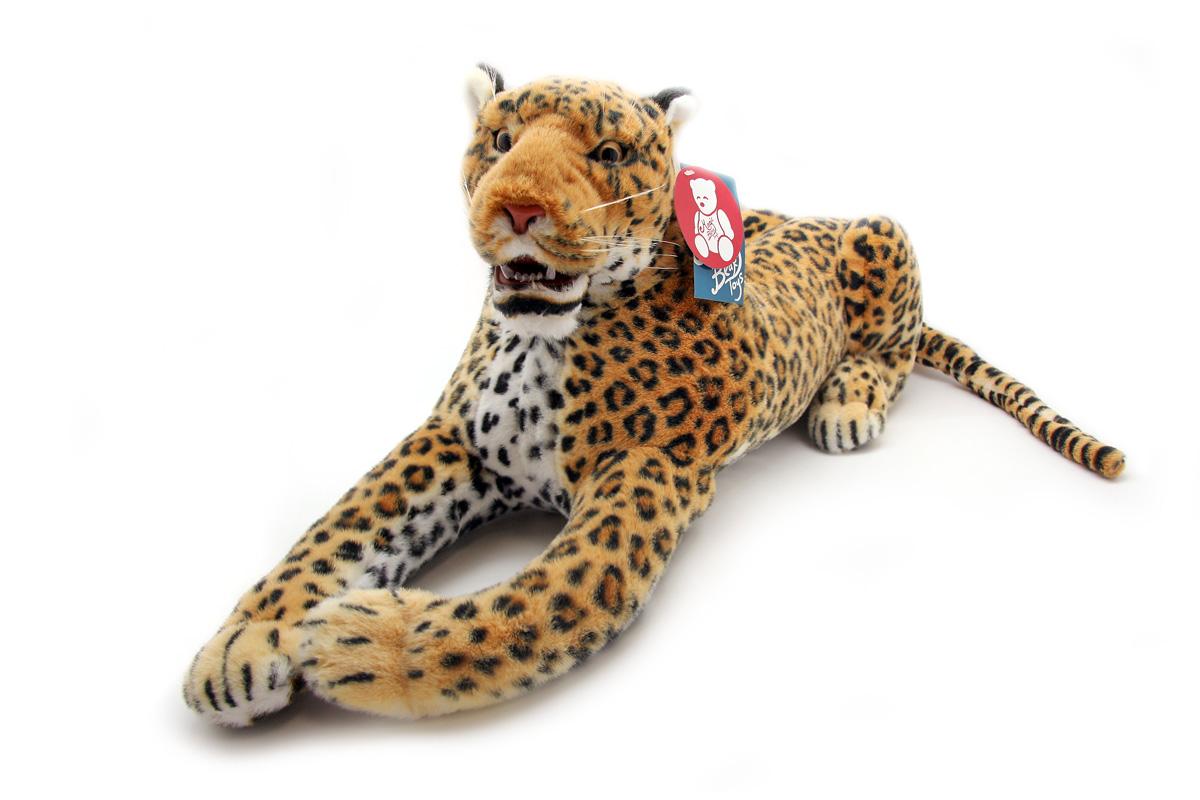 Мягкая игрушка Magic Bear Toys Леопард, 110 смBWZ110BRОчаровательная игрушка Magic Bear Toys Леопард изготовлена из нетоксичных экологически чистых материалов. Глазки, носик и зубы выполнены из пластика. Зверек обладает мягкой шерсткой, выполненной из искусственного меха. Голова игрушки имеет уплотненный каркас. Для набивки используется силиконизированное волокно. Удивительная мягкая игрушка принесет радость и подарит своему обладателю мгновения нежных объятий и приятных воспоминаний. Великолепное качество исполнения делают эту игрушку чудесным подарком к любому празднику. Трогательная и симпатичная, она непременно вызовет улыбку у детей и взрослых.
