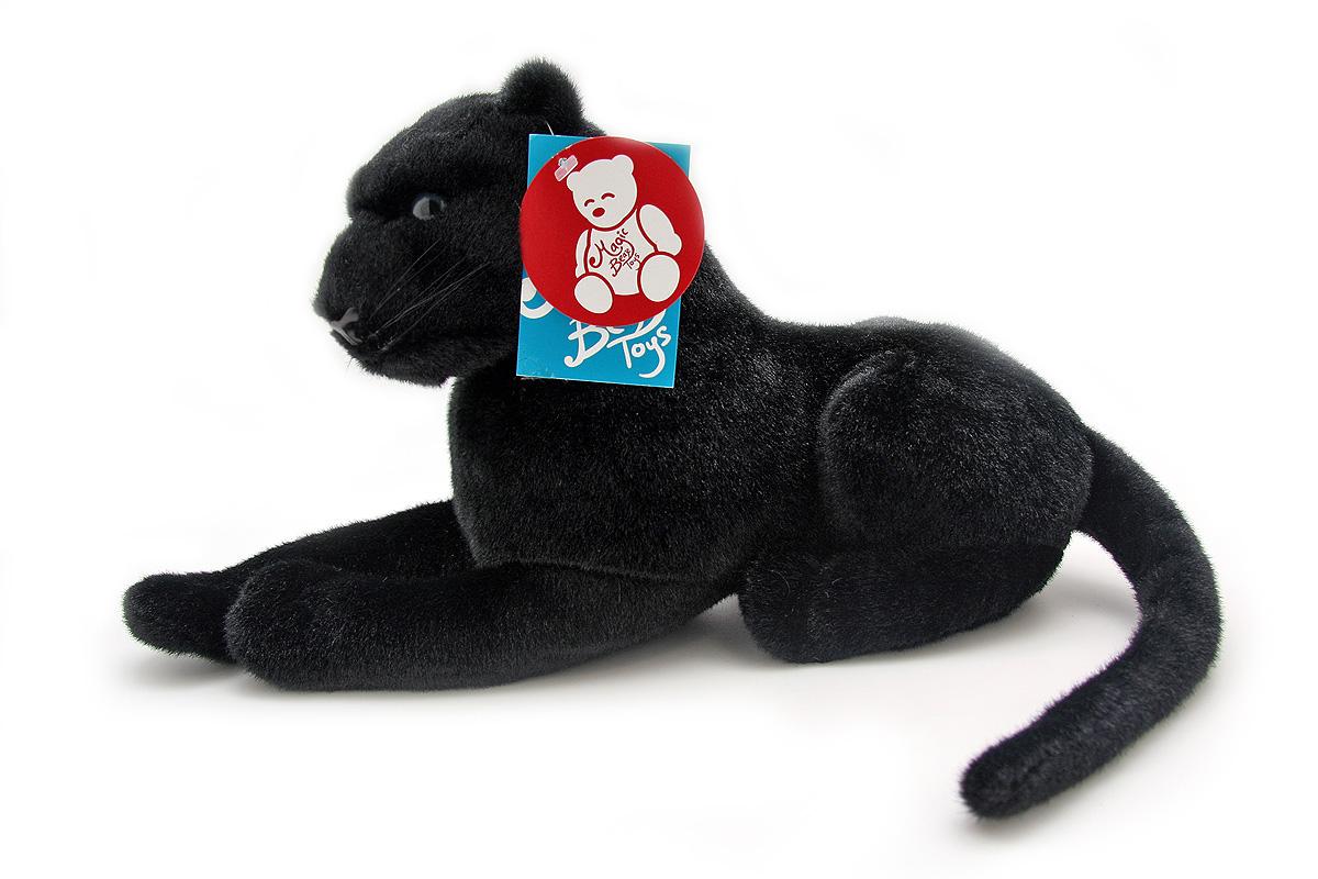 Мягкая игрушка Magic Bear Toys Пантера, 45 смBW45BLОчаровательная игрушка Magic Bear Toys Пантера изготовлена из нетоксичных экологически чистых материалов. Глазки и носик выполнены из пластика. Зверек обладает мягкой шерсткой, выполненной из искусственного меха. Голова игрушки имеет уплотненный каркас. Для набивки используется силиконизированное волокно. Удивительно мягкая игрушка принесет радость и подарит своему обладателю мгновения нежных объятий и приятных воспоминаний. Великолепное качество исполнения делают эту игрушку чудесным подарком к любому празднику. Трогательная и симпатичная, она непременно вызовет улыбку у детей и взрослых.