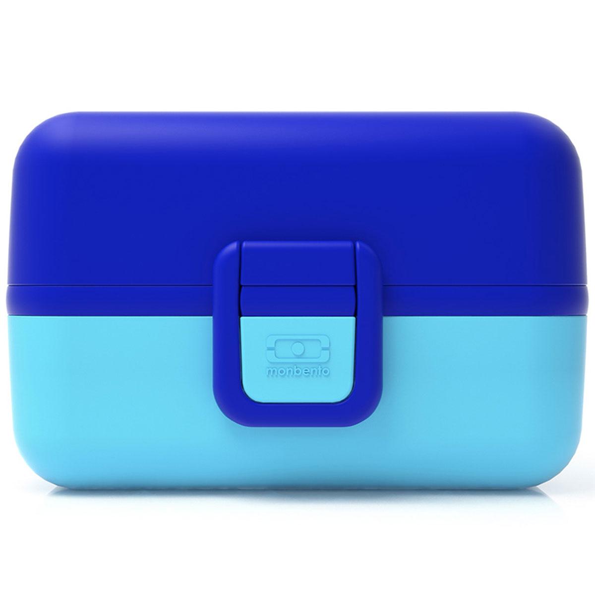 Ланчбокс Monbento Tresor, цвет: ежевичный, 900 мл3000 01 004Ланчбокс Monbento Tresor изготовлен из высококачественного пищевого пластика. Предназначен для хранения и переноски пищевых продуктов. Ланчбокс плотно закрывается на две защелки. Внутри имеется большое прямоугольное отделение, которое закрывается крышечкой, и два квадратных контейнера с прозрачными крышками. Компактные размеры позволят хранить ланчбокс в любой сумке. Его удобно взять с собой на работу, отдых, в поездку. Теперь любимая домашняя еда всегда будет под рукой, а яркий дизайн поднимет настроение и подарит заряд позитива. Можно использовать в микроволновой печи и для хранения пищи в холодильнике, можно мыть в посудомоечной машине. Объем: 900 мл. Общий размер ланчбокса: 16 см х 9 см х 10 см. Размер квадратных контейнеров: 7,5 см х 7,5 см х 5 см.