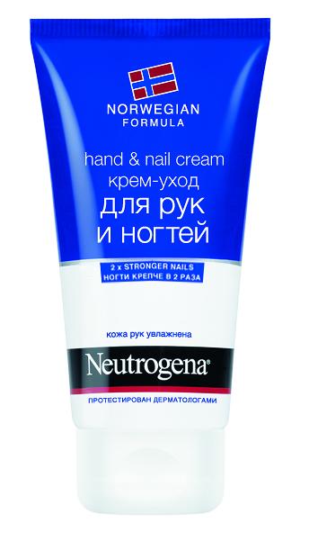Neutrogena Крем-уход Норвежская Формула для рук и ногтей, 75 мл03036510Средство создано для интенсивного ухода за кожей рук и ногтями. Оно питает, увлажняет и защищает кожу, при этом укрепляя ногтевую пластину. Инновационная Норвежская Формула помогает лучше смягчить кутикулу, а также быстро успокаивает кожу и обеспечивает эффективную защиту и хорошее увлажнение в течение суток. Легкая, нелипкая структура позволяет крему быстро впитываться. Это средство победило в номинации Лучший классический крем для рук 2011 года по версии Beauty Awards (Великобритания). Уникальная формула содержит: глицерин и бисаболол, которые мгновенно смягчают и увлажняют кожу; провитамин В5 (пантенол), который проникает в ногтевую пластину, укрепляя ее; аллантоин, размягчающий кутикулу. Товар сертифицирован.