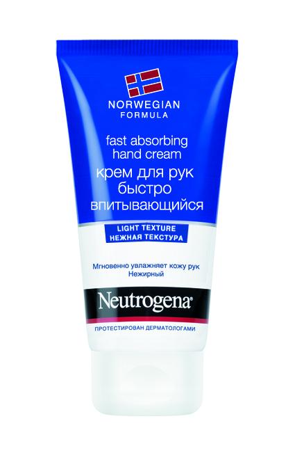 Крем для рук Neutrogena Норвежская формула, быстро впитывающийся, 75 мл38874Быстро впитывающийся крем для рук Neutrogena Норвежская формула разработан специально для глубокого ухода за кожей рук. Крем моментально увлажняет кожу рук, восстанавливая их мягкость и гладкость. Легкая нежирная текстура мгновенно впитывается, обеспечивая комфорт вашим рукам. Подходит для частого применения в течение дня.