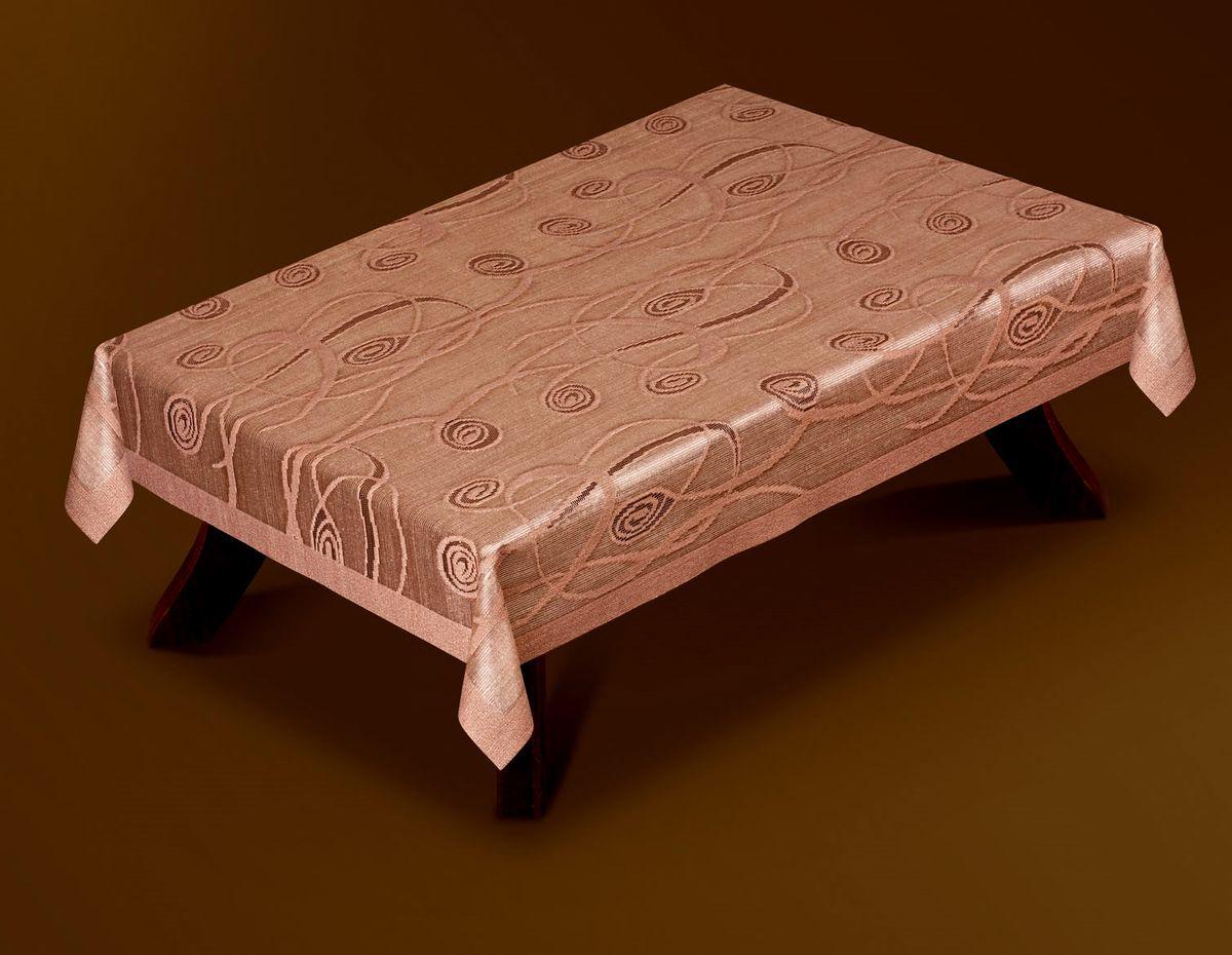 Скатерть Haft Gold Line, прямоугольная, цвет: шоколадный, 100 x 150 см. 207380-100207380-100Великолепная прямоугольная скатерть Haft Gold Line, выполненная из полиэстера, органично впишется в интерьер любого помещения, а оригинальный дизайн удовлетворит даже самый изысканный вкус. Скатерть изготовлена из сетчатого материала с ажурным рисунком. Скатерть Haft Gold Line создаст праздничное настроение и станет прекрасным дополнением интерьера гостиной, кухни или столовой.