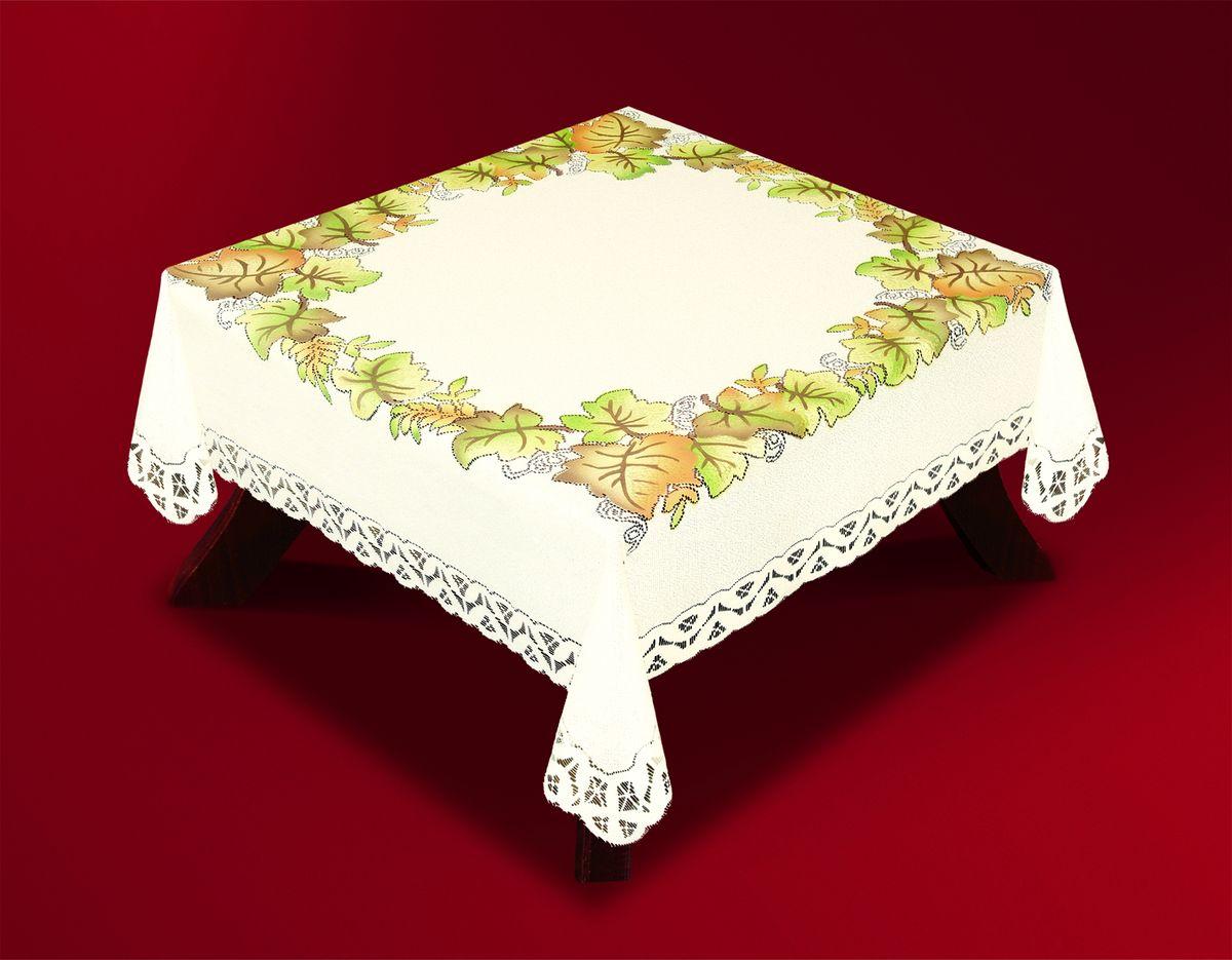 Скатерть Haft Skarb Babuni, квадратная, цвет: кремовый, 120 x 120 см. 33442-120 скатерть haft  skarb babuni