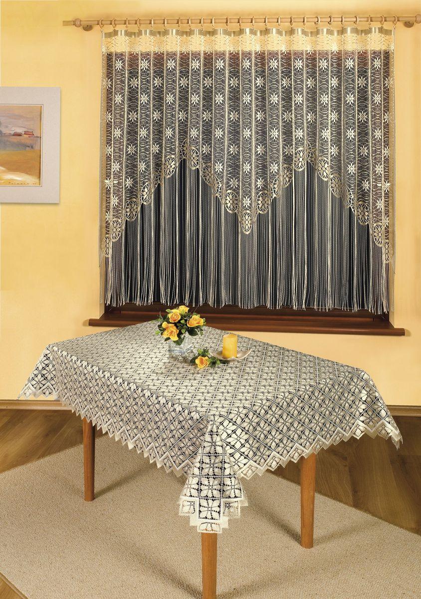 Скатерть Wisan Janko, прямоугольная, цвет: бежевый, 130 x 170 см8850Великолепная прямоугольная скатерть Wisan Janko органично впишется в интерьер любого помещения, а оригинальный дизайн удовлетворит даже самый изысканный вкус. Изделие выполнено из полиэстера и украшено изящным рисунком. Скатерть поможет создать атмосферу уюта и домашнего тепла в интерьере вашей кухни или комнаты, а также станет настоящим украшением праздничного стола.