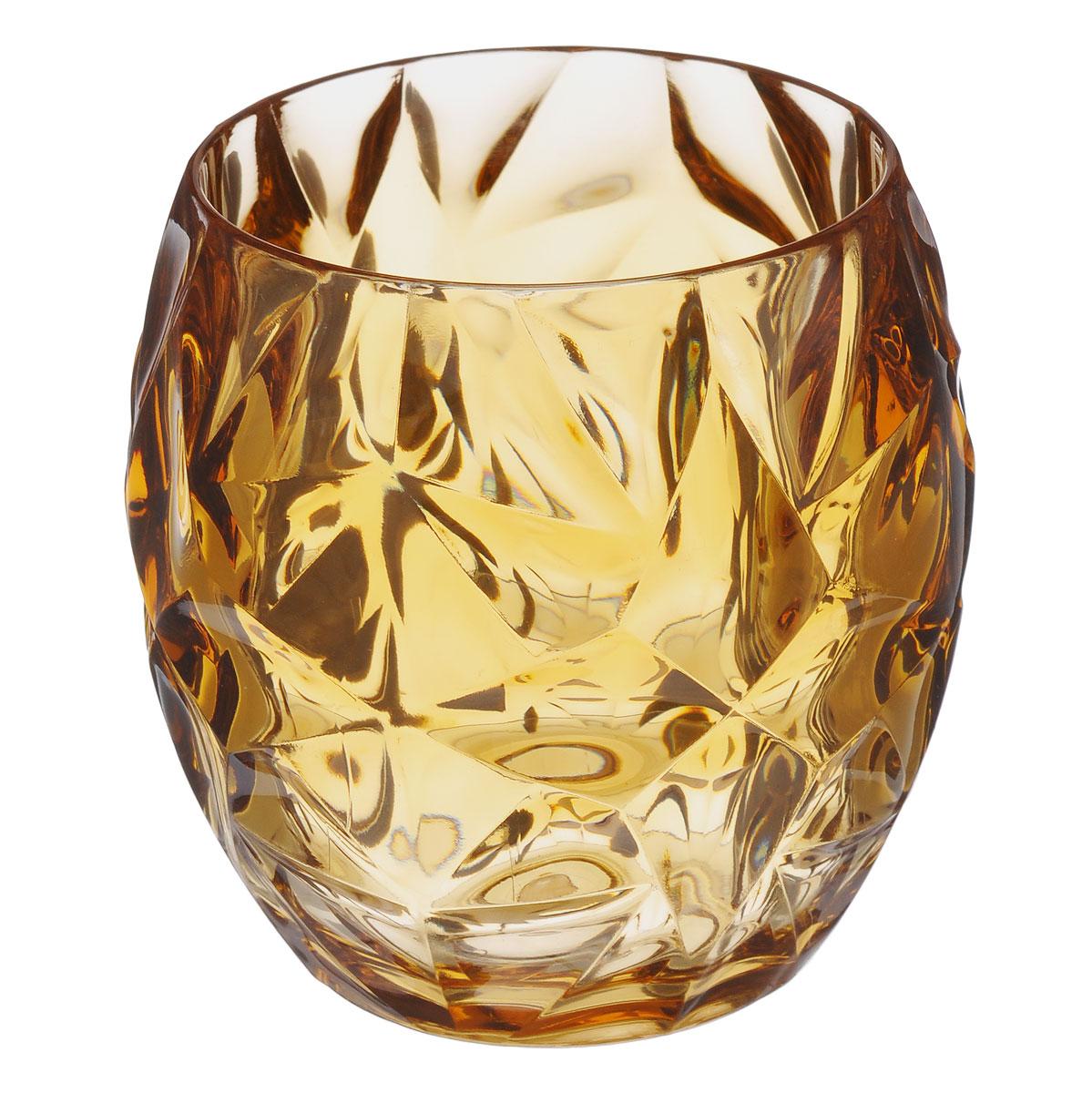 Стакан для ванной Fresh Code Узорный, цвет: светло-коричневый, 350 мл64538Оригинальный стакан Fresh Code Узорный, выполненный из акрила, предназначен для хранения различных предметов для гигиенических процедур. Лаконичный дизайн подойдет к любому интерьеру. Такой стакан создаст особую атмосферу уюта и максимального комфорта в ванной. Диаметр (по верхнему краю): 7,5 см. Диаметр дна: 5,5 см. Высота: 9,5 см.