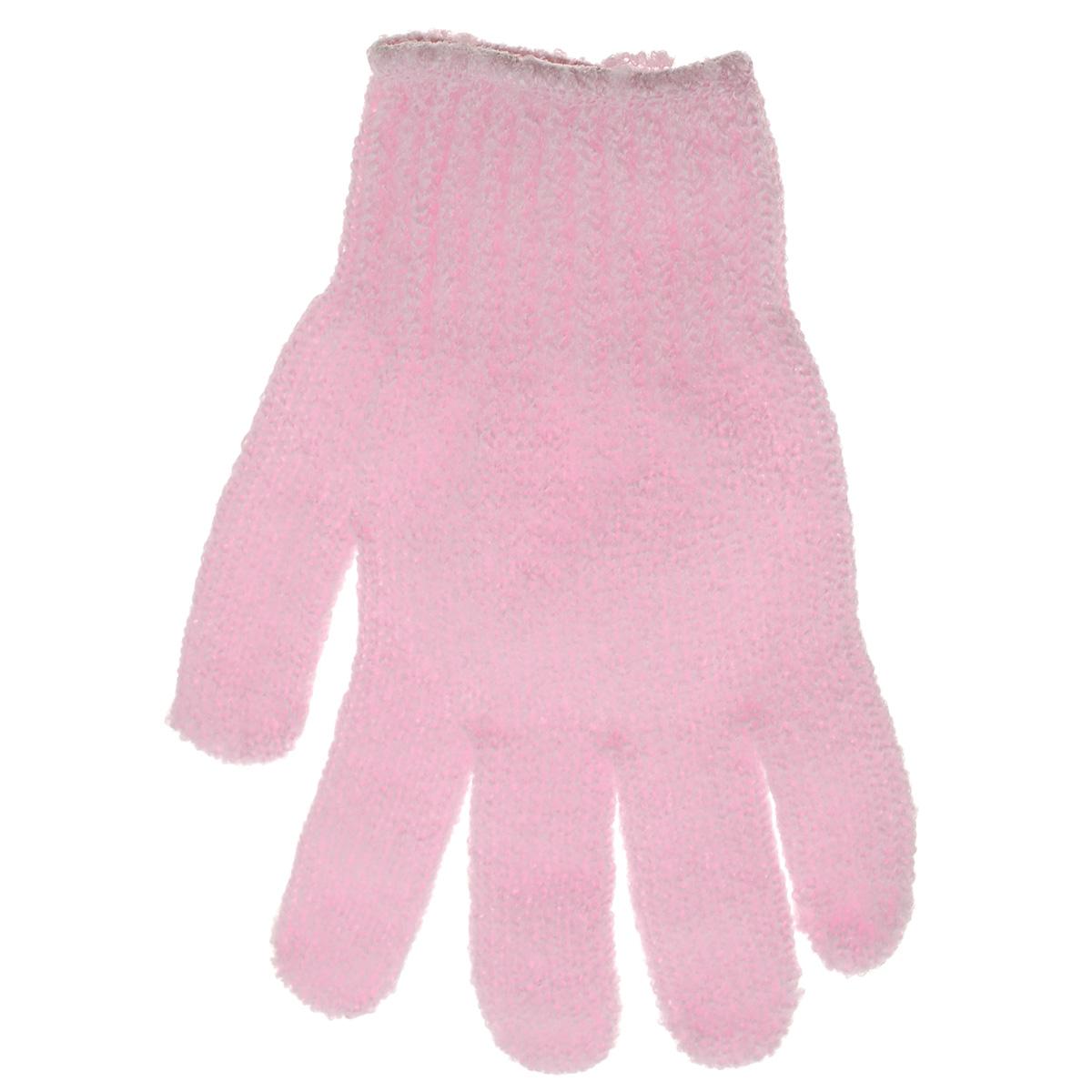 Перчатка массажная The Body Time, цвет: розовый, 17,5 х 12,5 см57201Массажная перчатка The Body Time выполненная из нейлона, прекрасно массирует, тонизирует и очищает кожу. Обладая эффектом скраба, перчатка мягко отшелушивает верхний слой эпидермиса, стимулируя рост новых, молодых клеток, делая кожу здоровой и красивой. Перчатка используется для душа или для массажных процедур. Размер перчатки: 17,5 х 12,5 см.