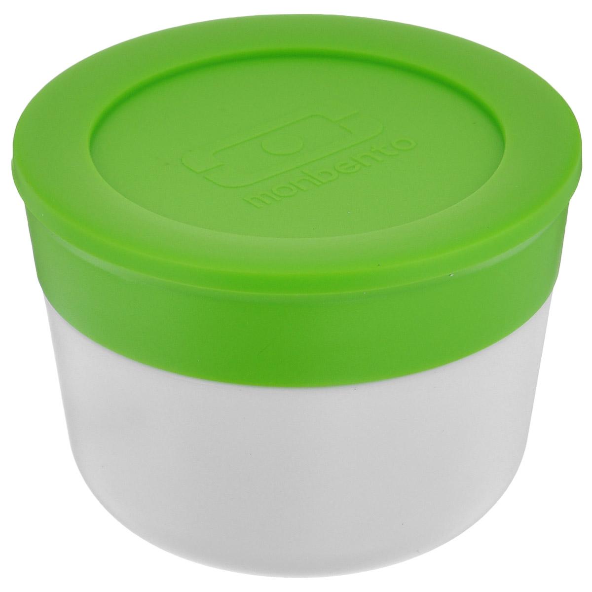 Соусница Monbento MB Temple, с крышкой, цвет: белый, зеленый, диаметр 7,5 см, 75 мл1005 03 005Соусница с крышкой Monbento MB Temple - удобное дополнение к ланч-боксу, которое позволит заправить соусом салат или гарнир прямо перед едой. Соусница изготовлена из полипропилена и имеет герметичную плотно закручивающуюся силиконовую крышечку. Идеально помещается в ланч-бокс от Monbento, занимая минимум места. Можно мыть в посудомоечной машине, а также хранить в морозильной камере.