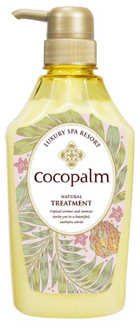 CocoPalm Кондиционер Luxury SPA Resort для оздоровления волос и кожи головы Cocopalm Natural Treatment  600 мл26123/26109/38Интенсивно увлажняет и питает волосы, ухажива- ет за ослабленными волосами, восстанавливает поврежденные, сухие и ломкие волосы, помогает вернуть волосам здоровый и ухоженный вид, об- легчает расчесывание.
