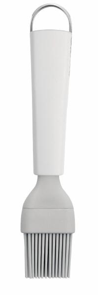 Кисть кондитерская Brabantia, цвет: белый. 400384400384Кондитерская кисть Brabantia станет вашим незаменимым помощником на кухне. Рабочая часть кисточки выполнена из силикона, ручка изготовлена из пластика. Силикон абсолютно безвреден для здоровья, не впитывает запахи, не оставляет пятен, легко моется. Кисть Brabantia - практичный и необходимый подарок любой хозяйке!