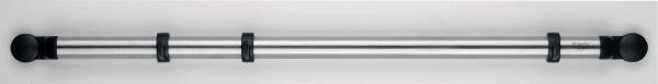 Настенный держатель Brabantia, 53 см. 214585214585Настенный держатель Brabantia изготовлен из металла и пищевого пластика. Предназначен для домашнего использования и займет достойное место среди аксессуаров на вашей кухне. Характеристики: Материал: металл, пластик. Размер держателя: 53 см х 2 см х 0,5 см. Артикул: 214585. Гарантия производителя: 5 лет.