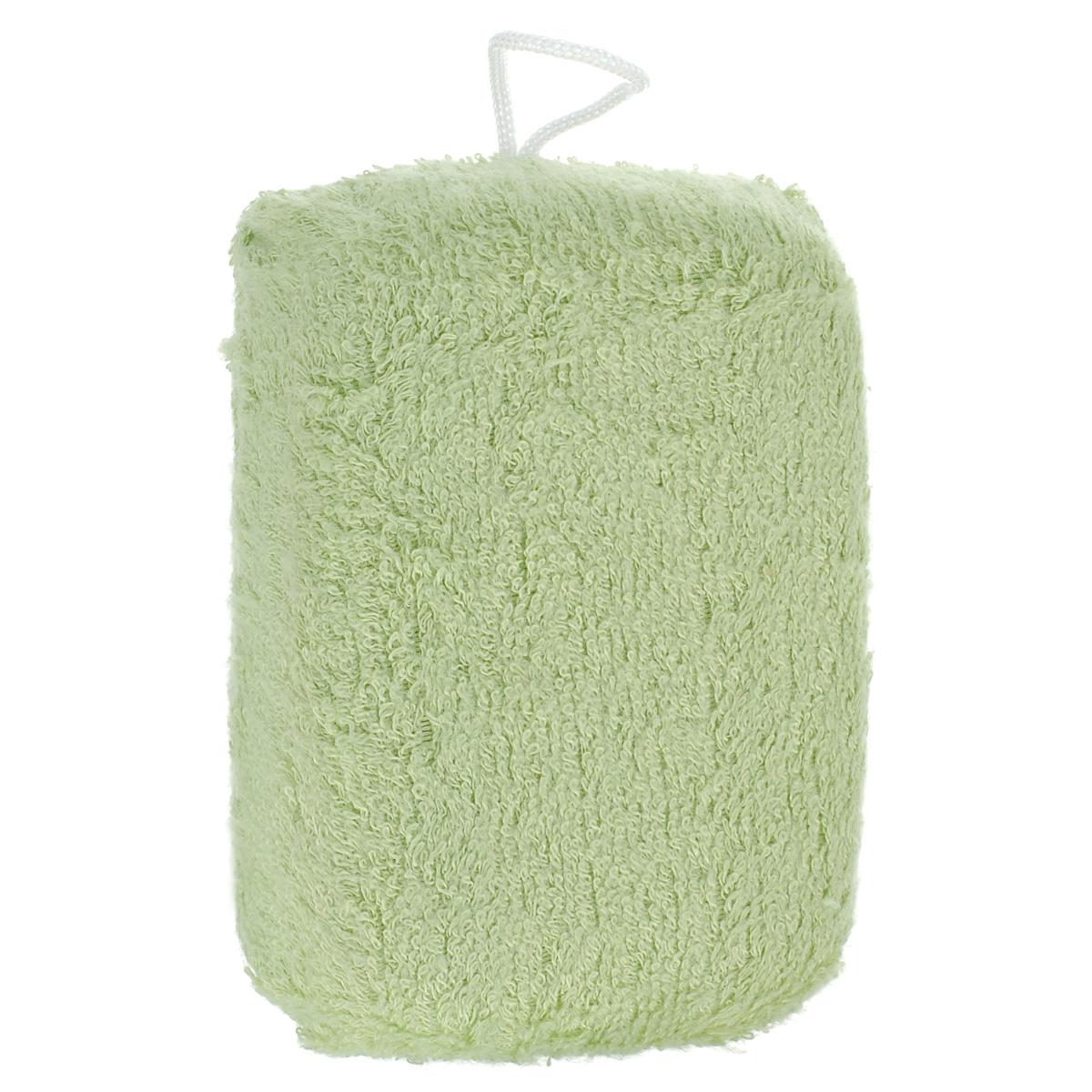 Мочалка для лица The Body Time, из бамбука, цвет: светло-зеленый, 12 см х 8 см63946Мочалка для лица The Body Time, изготовленная из нежнейшего бамбукового волокна предназначена для самого нежного мытья. Структура бамбукового волокна настолько мягкая, что подходит даже для чувствительной кожи лица. Мочалку можно использовать в ванной, в бане или в сауне.