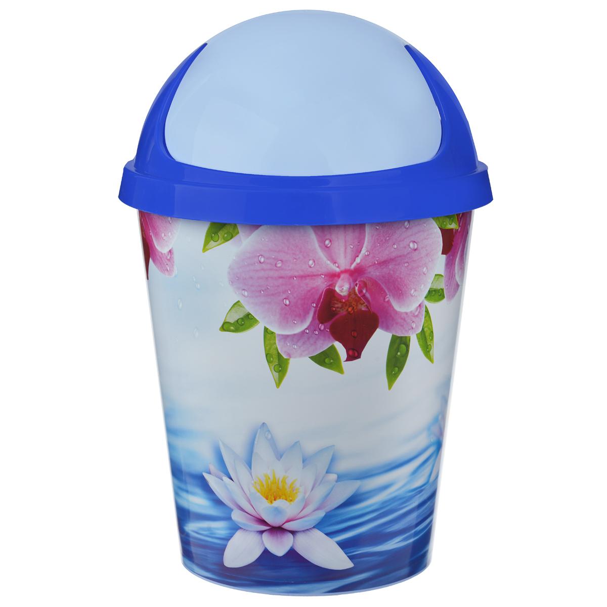 Контейнер для мусора Альтернатива Лотос, 10 л, 26,5 х 26,5 х 39 смМ1757Контейнер для мусора Альтернатива Лотос выполнен из пластика. Такой аксессуар очень удобен в использовании, как дома, так и в офисе. Оснащен крышкой. Размер контейнера (с учетом крышки): 26,5 см х 26,5 см х 39 см. Размер контейнера (без учета крышки): 26,5 см х 26,5 см х 29 см.