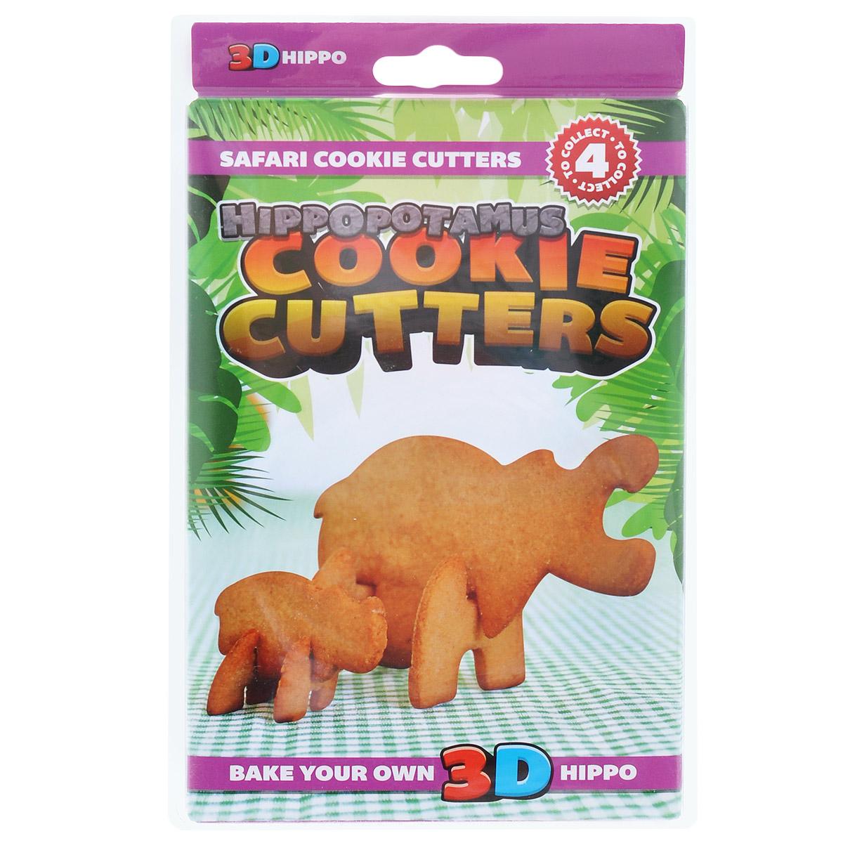 Форма для печенья 3D Suck UK Гиппопотам, цвет: фиолетовыйSK COOKIESAFARI43D форма для печенья Suck UK Гиппопотам, изготовленная из высококачественного и прочного пластика, состоит из четырех составных частей, которые позволяют собрать объемную фигуру в виде гиппопотама. С такой формой легко и просто вырезать фигурное тесто для приготовления домашнего печенья. Форма для печенья Suck UK Гиппопотам вдохновит вас и вашего ребенка на кулинарные шедевры. Можно мыть в посудомоечной машине. Размер самой большой составной части: 14 см х 8 см. Размер самой маленькой составной части: 3 см х 3 см.