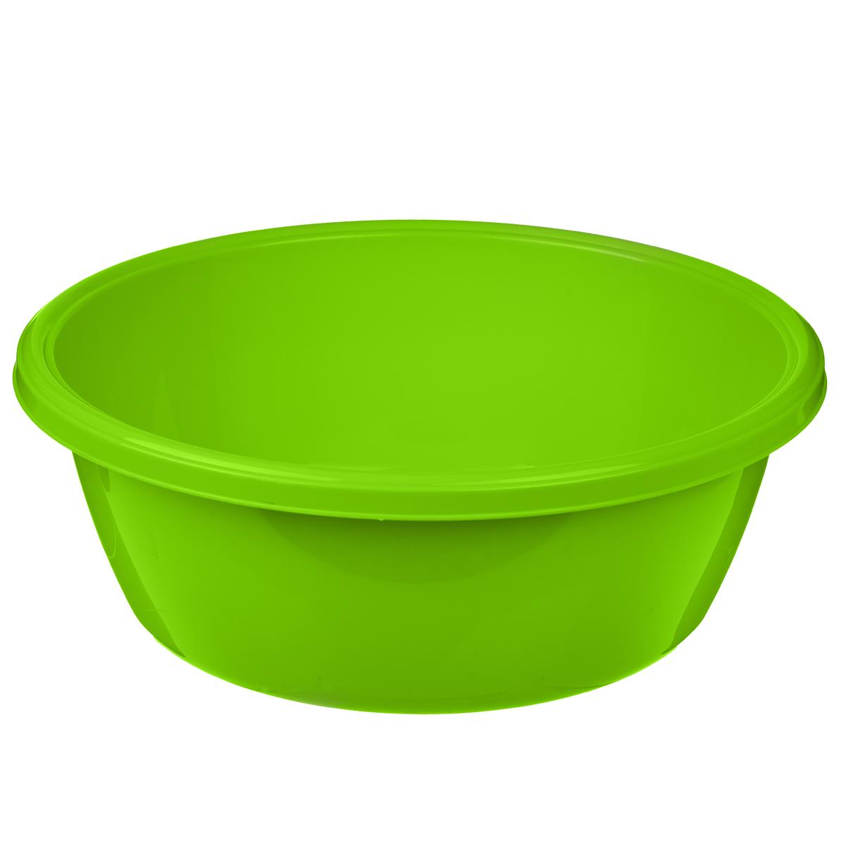 Таз Dunya Plastik, цвет: зеленый, 10,5 л10326Таз Dunya Plastik выполнен из высококачественного пластика. Он предназначен для стирки и хранения разных вещей. По краю имеются углубления, которые обеспечивают удобный захват. Такой таз пригодится в любом хозяйстве.